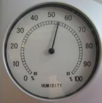 室内温度と湿度の関係